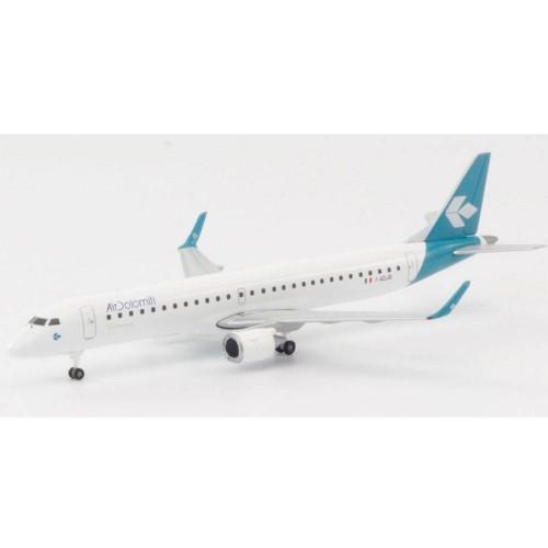 Herpa 533799 samolot Air Dolomiti Embraer E195 - new 2019 colors -I-ADJO (1:500)