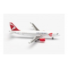 Herpa 534680 samolot CSA Czech Airlines Airbus A320 - new 2020 colors – OK-HEU (1:500)