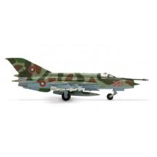 H552400 samolot Mikoyan MiG-21MF Bułgaria