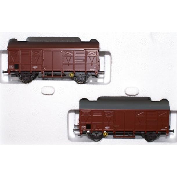Marklin 46272 zestaw 2 wagony towarowe Gs  SNCF ep. IV (H0)