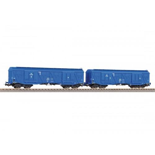Już w sprzedaży Piko 58375 zestaw 2 wagony Typ 401ka Gags PKP Cargo  ep.VI (H0)