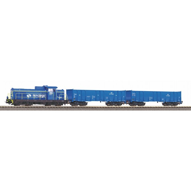 Piko 97937 zestaw startowy z lokomotywą SM42 PKP Cargo i 2 wagony węglarki  ep.VI (H0)