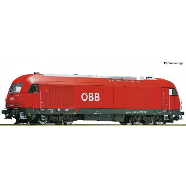 Roco 73765 lokomotywa spalinowa RH 2016 080-1 OBB  ep.VI , wersja analogowa, 8PIN  (H0)